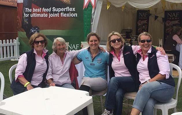 Nana Dalton and team at Hartpury