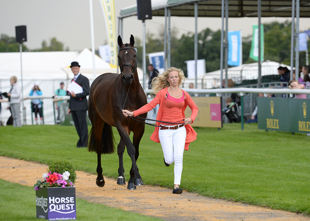 Coral Keen and Wellshead Fare Opposition at Burghley 2015. Picture by Peter Nixon
