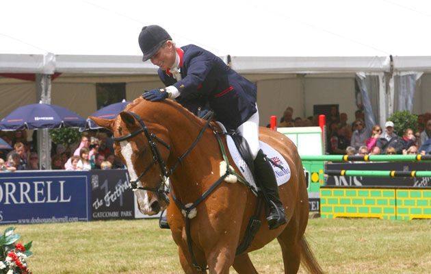 Zara Tindall (nee Phillips) and Toytown at his retirement