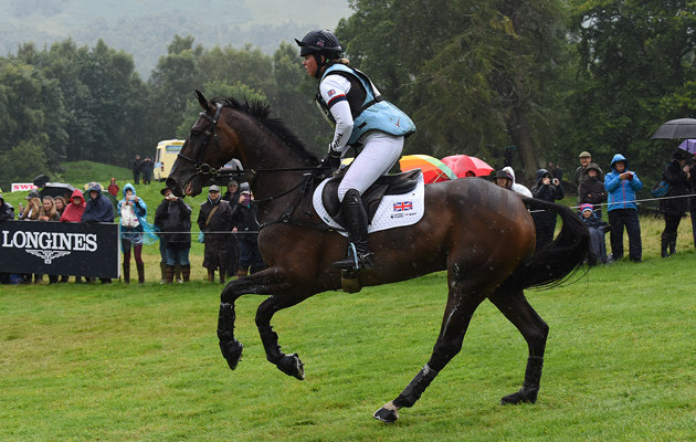 Kitty King and Persimmon at the Blair European Eventing Championships 2015. Picture by Peter Nixon