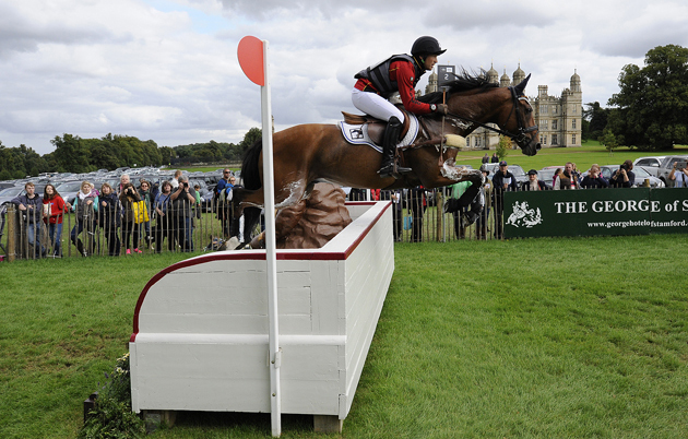 Michael Jung and La Biosthetique-Sam FBW at Burghley 2015. Picture by Peter Nixon