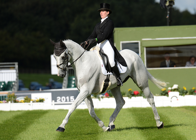 Nana Dalton and Elite Syncopation at Burghley 2015. Picture by Peter Nixon