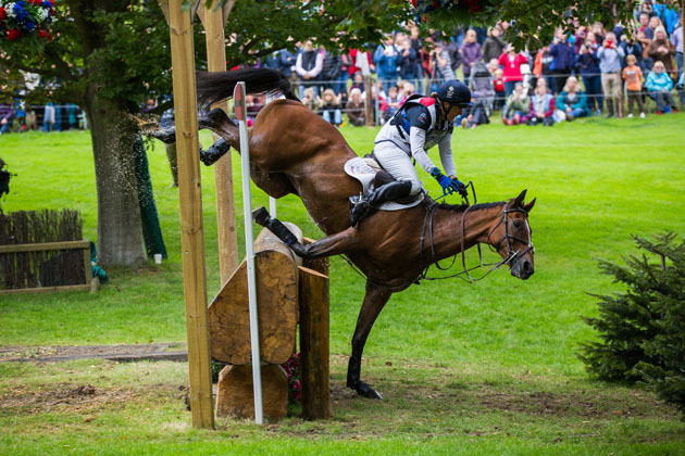 13 heart-stopping moments at Burghley Horse Trials *PICTURES*