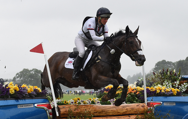Isabelle (Izzy) TAYLOR (GBR) riding KBIS Briarlands Matilda, during the Cross Country phase of the Longines FEI European Eventing Championship 2015 at Blair Castle, in Blair Atholl near Pitlochry in Perthshire, Scotland, UK , on 9th September 2015