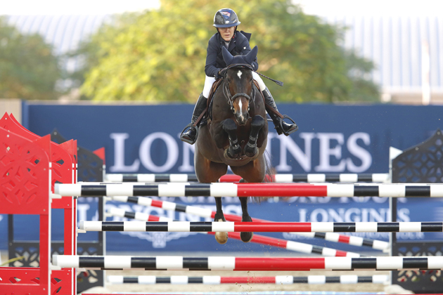 Lauren Hough on Royalty Des Isles. Picture by Stefano Grass/LGCT