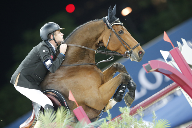 Scott Brash on Hello Sanctos. Picture by Stefano Grasso/LGCT