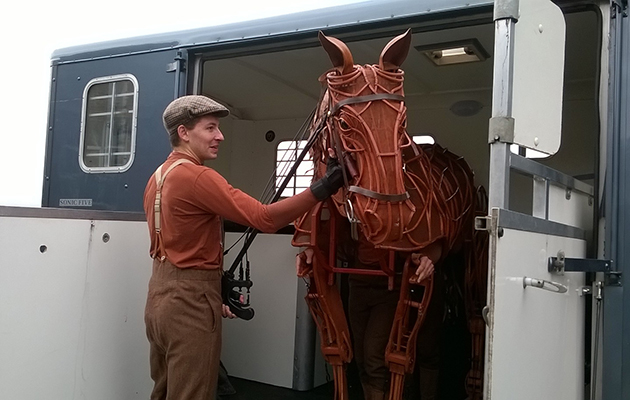 Stud owner comes to the rescue of War Horse Joey