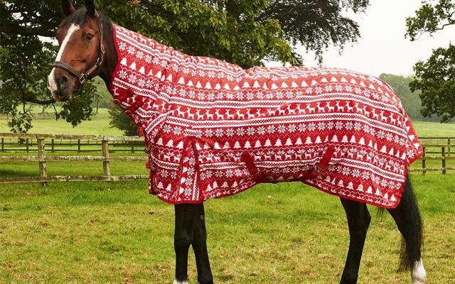 Horse Rug 402 0356 Derby House Christmas