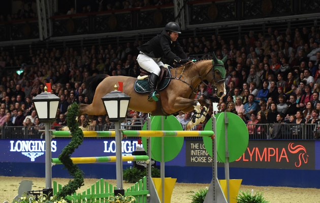 Super Sox O'Connor,Cian Class 12 The Longines Christmas Craker at The London International Horse Show 2015 at Olympia, London, UK on 18th December 2015