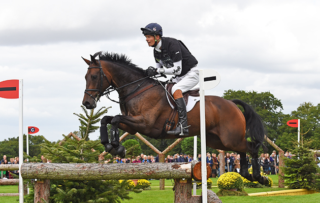 William Fox-Pitt riding FERNHILL PIMMS, during the Cross Country of The Land Rover Burghley Horse Trials near Stamford in Lincolnshire, UK, on 5th September 2015