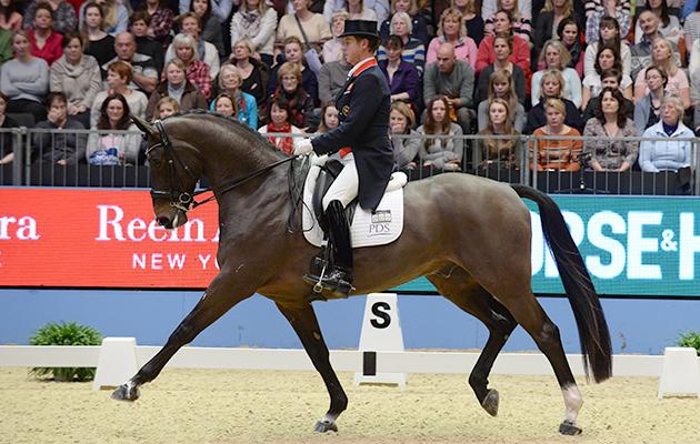 Carl Hester (GBR) riding Nip Tuck
