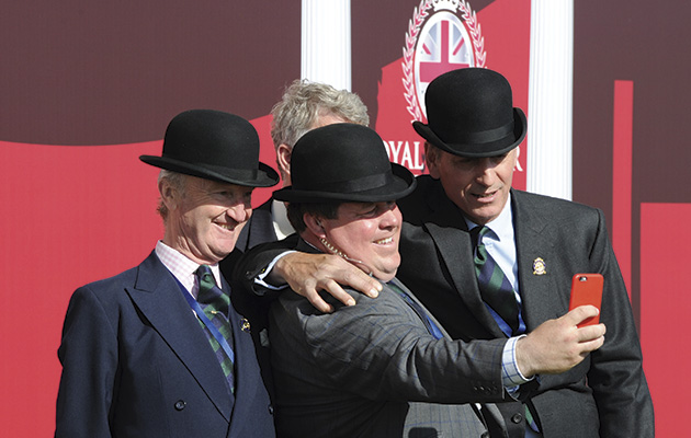 Windsor Horse Show Saturday 16.05.15 Stewards selfie