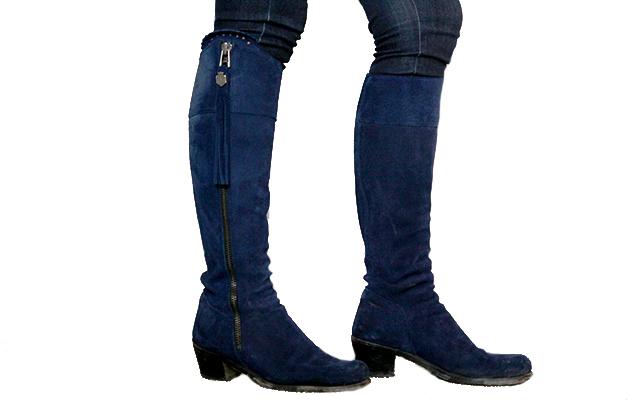 849a42ae07d Fairfax & Favor heeled Regina suede boot: review review - Horse ...