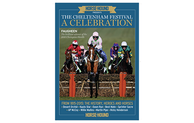 Cheltenham bookazine cover