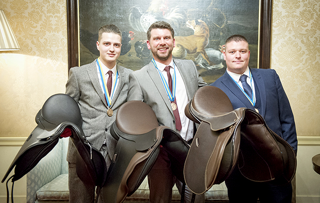 Society of Master Saddlers annual awards in Saddler's Hall, London