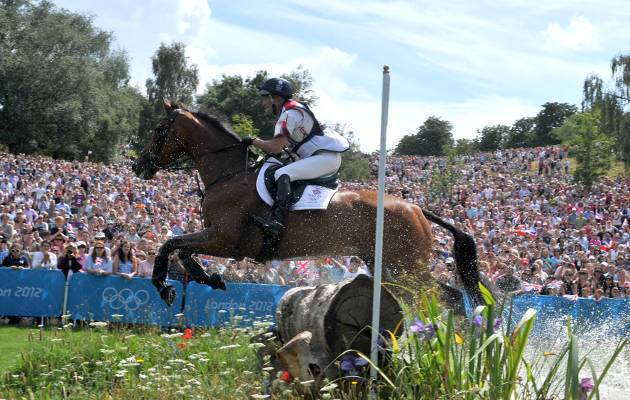 Olympics Eventing XCountry  30.07.12