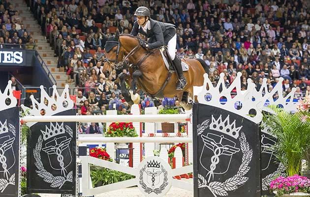 Steve Guerdat retains his world cup title in Gothenburg