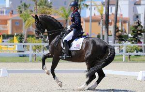 Oliva, Spain - 2016 April 24: during Doma competition at CDI3 Oliva Nova at Oliva Nova Equestrian Center. (photo: www.1clicphoto.com/Mariann Marko)