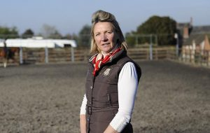 Julie Templeton at Home Long Barn Stables, Nr Newport on 19 February 2013