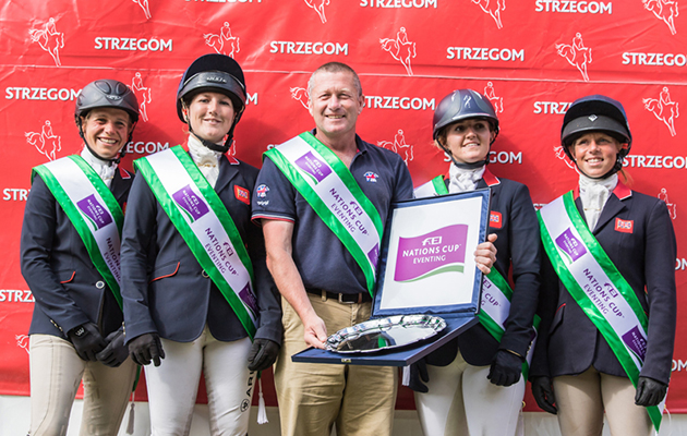 FEI Nations Cup Eventing Strzegom Poland