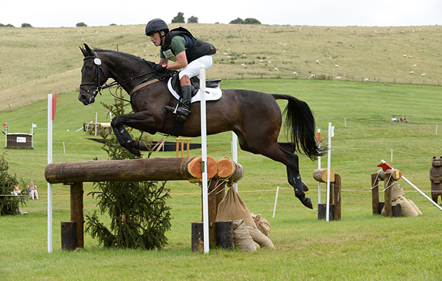 Simon Grieve riding TREVIDDEN in the CIC** Section D during Barbury International on the Barbury Castle Estate in Rockley near Marlborough in Wiltshire UK on 10th July 2016