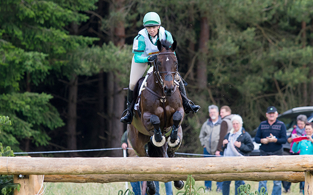 Coral Keen (GBR) & Wellshead Fare Opposition - Cross Country - Luhmühlen CCI4*