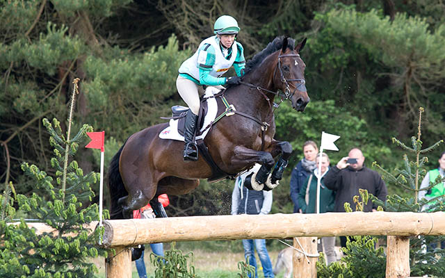 Coral Keen (GBR) & Wellshead Fare Opposition - Cross Country - Luhmühlen CCI4* - Salzhausen, Germany - 20 June 2015