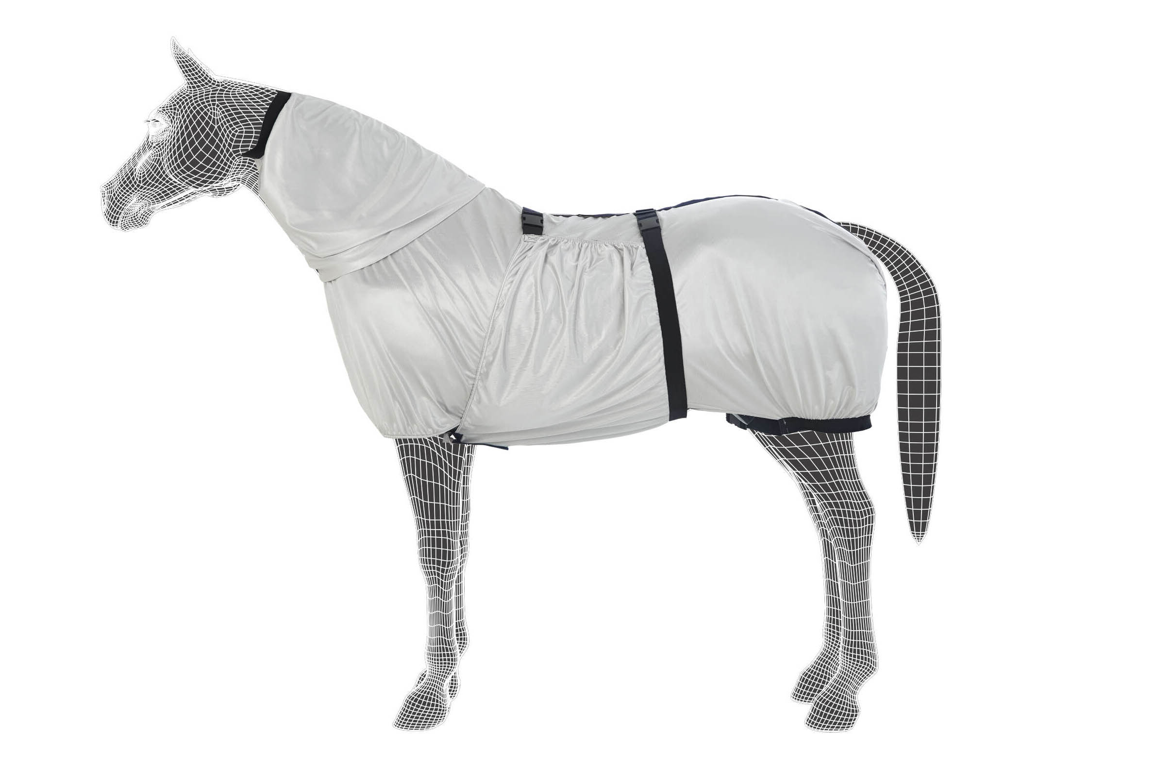 Fly Rug With Belly Protection