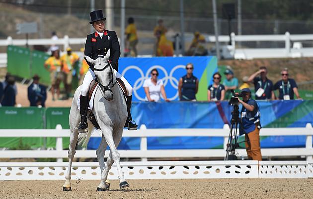 Pippa Funnell Rio eventing dressage