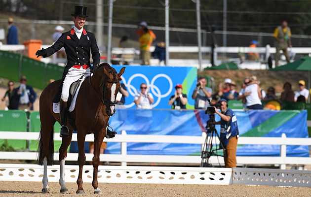 William Fox-Pitt Rio eventing dressage