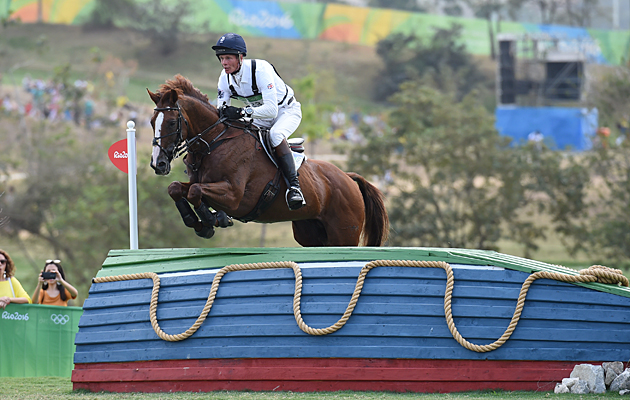 Rio Olympics eventing cross-country William Fox-Pitt