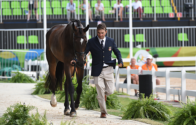 Phillip Dutton Mighty Nice Rio Olympics eventing final trot-up
