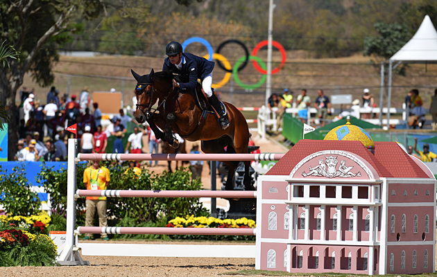 Peder Frericson (SWE) and All In at the Rio Olympics