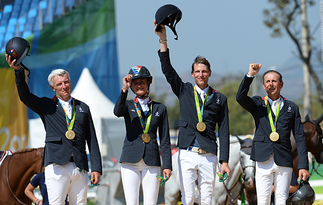 France showjumping team gold Rio