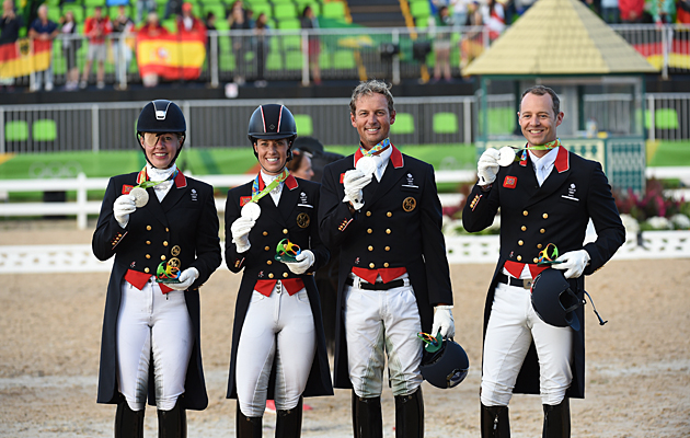 British Dressage Team Nail Rio Olympics Silver It Was