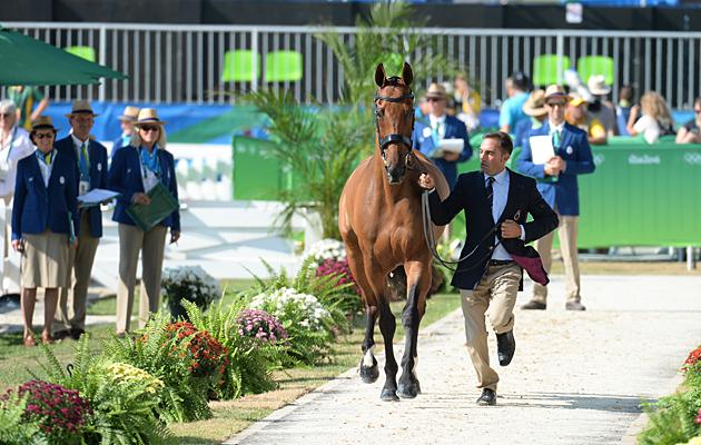 Rio Olympics trot-up