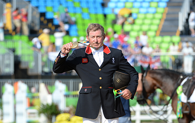 Nick Skelton Rio gold