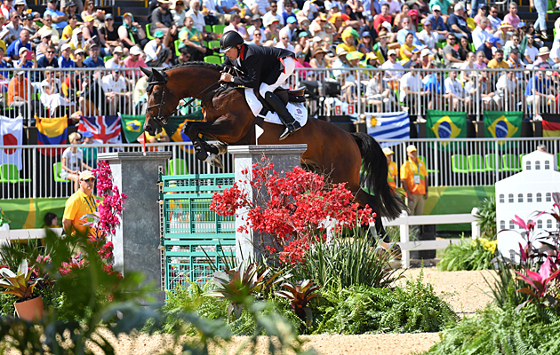 British showjumpers times Rio nick skelton rio showjumping
