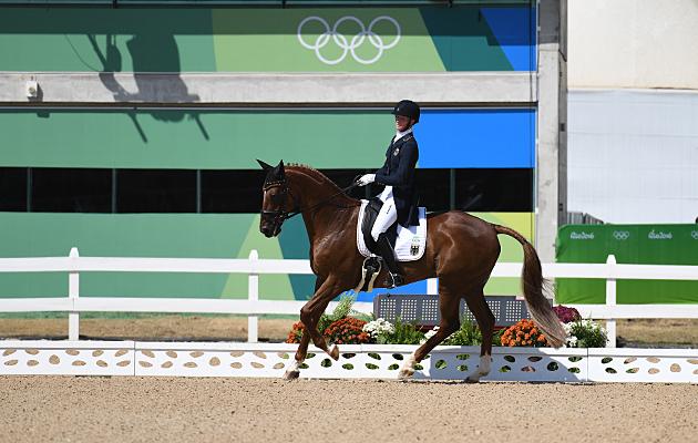 Sandra Auffarth Rio Olympics