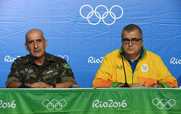 Rio Olympics security briefing