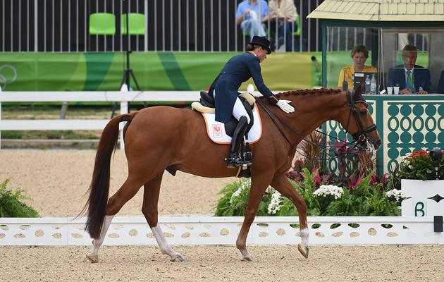 Adelinde Cornelissen Parcival Rio Olympics