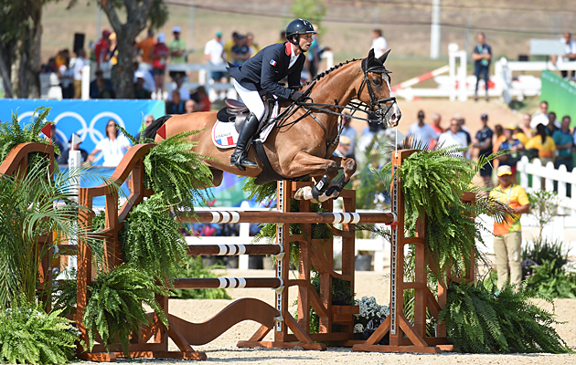 Rio Olympics eventing showjumping Thibaut Vallette Qing Du Briot