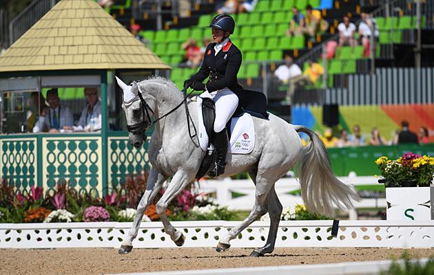 Gemma Tattersall Rio eventing dressage