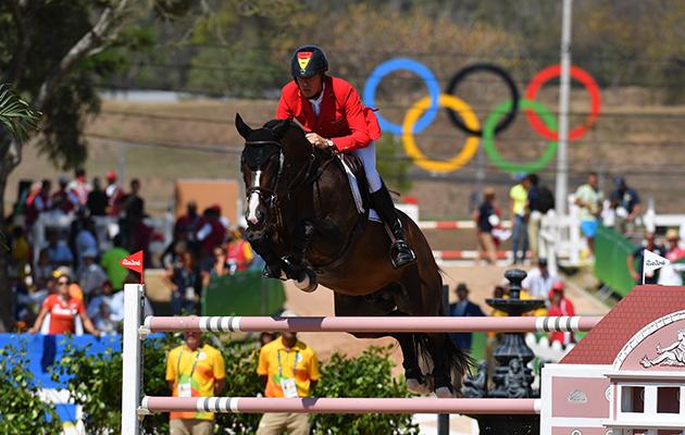 Christian Ahlmann (GER) riding Taloubet Z at the Rio Olympics