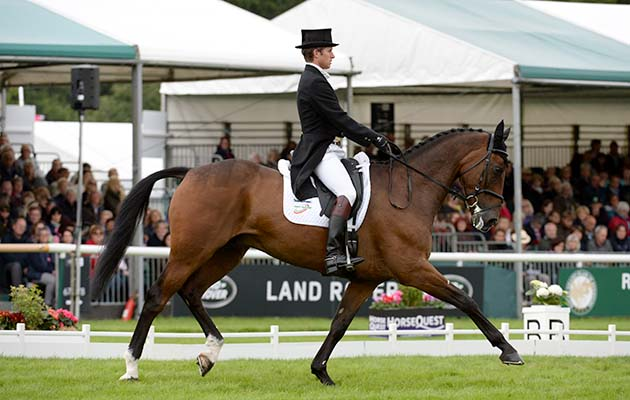 Burghley dressage times Tom Crisp Coolys Luxury