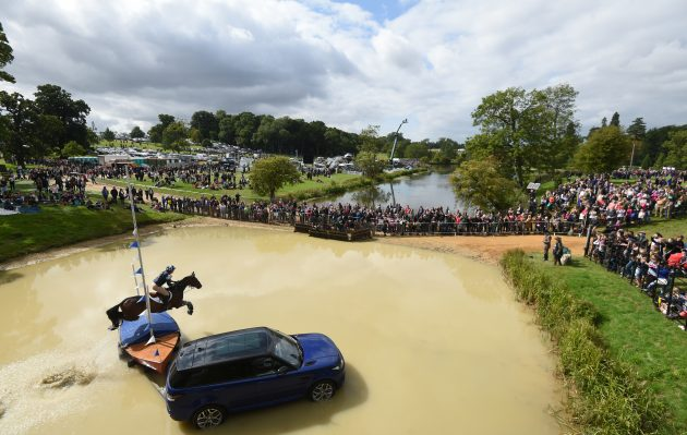 STAMFORD, ENGLAND - SEPTEMBER 05: xxx during the The Land Rover Burghley Horse Trials 2015 on September 5, 2015 in Stamford, England. (Photo by Tom Dulat/Getty Images)