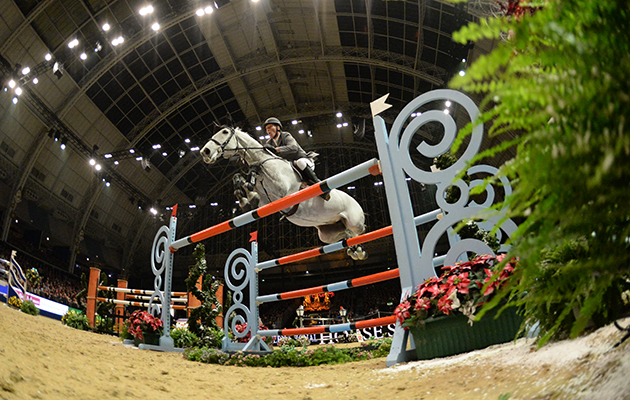 Olympia Horse Show discount codes Ludger BEERBAUM ( GER ) riding Chiara 222, in the The Olympia Grand Prix (Class 25), at The London International Horse Show 2015 at Olympia, London, UK on 21th December 2015