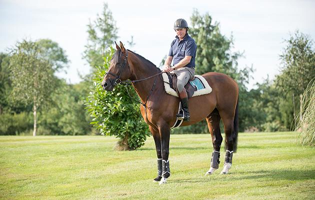 Nick Skelton and Big Star - Shelfield Green, Alcester, Warwickshire, United Kingdom - 01 September 2016