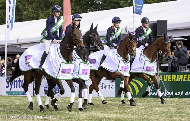 Team GB take the Nations Cup Eventing - Boekelo leg: 2016 NED-Military Boekelo CCIO3* (Interim-). Sunday 9 October. Copyright Photo: Libby Law Photography