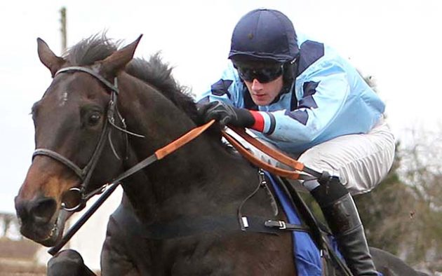 Raysrock ridden by Wilson Renwick wins at Kelso 6/3/10Photograph by  John Grossick